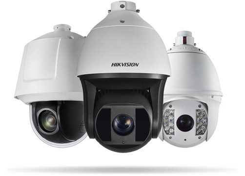 Hikvision PTZ Cameras for Outdoor
